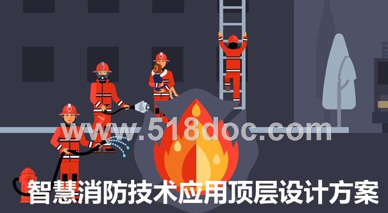 智慧消防技术应用顶层设计方案.pptx
